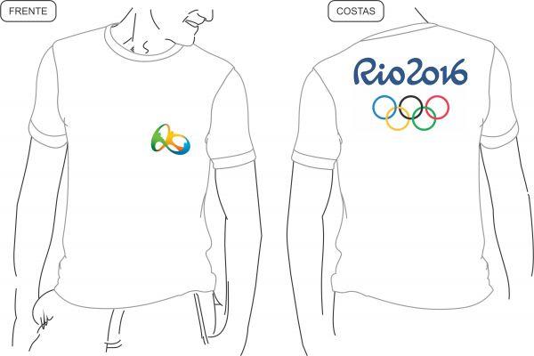Lote 02   20 Camiseta Branca Estampadas Frente Costas